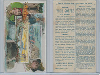 K8 Arbuckle Coffee, Views Trip Around World, 1890, #12 Naples, Italy