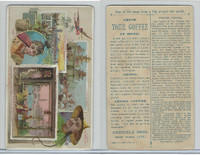 K8 Arbuckle Coffee, Views Trip Around World, 1890, #13 Pekin, China