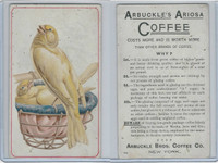 K9 Arbuckle Coffee, General Subjects, 1890, #66 Birds