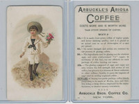 K9 Arbuckle Coffee, General Subjects, 1890, #72 Child In Sailor Suit