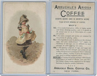 K9 Arbuckle Coffee, General Subjects, 1890, #73 Child With Flowers