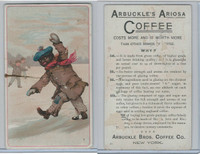 K9 Arbuckle Coffee, General Subjects, 1890, #81 Child In Snow