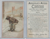K9 Arbuckle Coffee, General Subjects, 1890, #82 Snowball, Black Americana