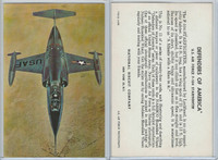 F275-3 National Biscuit, Defenders Of America, 1958, #11 F104 Starfighter