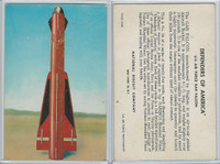 F275-3 National Biscuit, Defenders Of America, 1958, #24 GAR Falcon Rocket