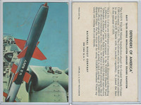 F275-3b National Biscuit, Defenders Of America, 1959, #5 Talos Missle