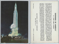 F275-3b National Biscuit, Defenders Of America, 1959, #22 Juno II Rocket