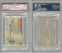 F277-1, H.J. Heinz, Famous Airplane Pictures, 1935, #10 Lockheed El, PSA 6 EXMT