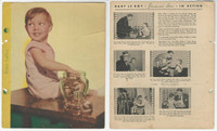 F5-1 Dixie Cup, Premium, 1935, Movie Stars, Baby LeRoy