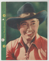F5-3 Dixie Cup, Premium, 1937, Movie Stars, Johnny Mack Brown