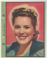 F5-6 Dixie Cup, Premium, 1940, Movie Stars, Brenda Joyce