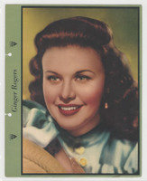 F5-6 Dixie Cup, Premium, 1940, Movie Stars, Ginger Rogers