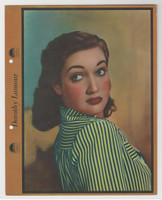 F5-7 Dixie Cup, Premium, 1941, Movie Stars, Dorothy Lamour