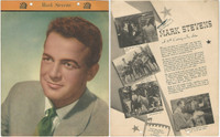 F5-15 Dixie Cup, Premium, 1949, Movie Stars, Mark Stevens