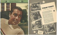 F5-17 Dixie Cup, Premium, 1951, Movie Stars, Tyrone Power