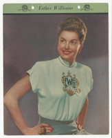 F5-17 Dixie Cup, Premium, 1951, Movie Stars, Esther Williams
