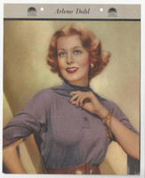 F5-19 Dixie Cup, Premium, 1953, Movie Stars, Arlene Dahl