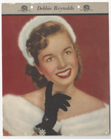 F5-19 Dixie Cup, Premium, 1953, Movie Stars, Debbie Reynolds