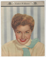 F5-19 Dixie Cup, Premium, 1953, Movie Stars, Esther Williams