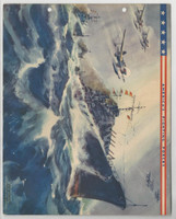 F6-2 Dixie Cup, Premium, 1942, America's Fighting Forces, Cruisers