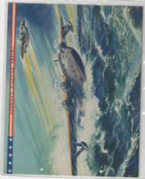 F6-2 Dixie Cup, Premium, 1942, America's Fighting Forces, Patrol Bombers