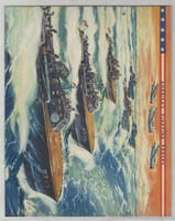 F6-2 Dixie Cup, Premium, 1942, America's Fighting Forces, Patrol Torpedo Boats