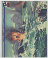 F6-3 Dixie Cup, Premium, 1943, America Attacks, Sub Sinks Jap Destroyers