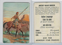 F150-1, Armour Star, Indian Language, 1956, Ancient Navajo