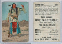 F150-1, Armour Star, Indian Language, 1956, Kicking Bear