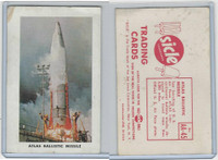 F223-1 Joe Lowe Corp, Sicle Airplanes, 1959, #45 Atlas Ballistic Missile