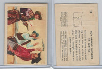 F278-19 Post Cereals, Roy Rogers Pop-Out, 1953, #13 Roy Brings Outlaws