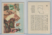 F278-19 Post Cereals, Roy Rogers Pop-Out, 1953, #14 Roy Brings In Bandit
