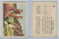 F278-19 Post Cereals, Roy Rogers Pop-Out, 1953, #16 A Great Team