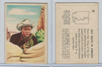 F278-19 Post Cereals, Roy Rogers Pop-Out, 1953, #17 Roy Waits In Ambush