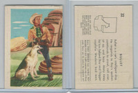 F278-19 Post Cereals, Roy Rogers Pop-Out, 1953, #22 Bullet