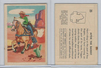 F278-19 Post Cereals, Roy Rogers Pop-Out, 1953, #25 After The Bandit