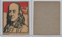 F278-50 Post Cereal, Famous North Americans, 1930's, Benjamin Franklin