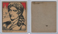 F278-50 Post Cereal, Famous North Americans, 1930's, Daniel Boone