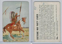 F279-8 Quaker, Braves of Indian Nations, 1956, #11 Cheyenne