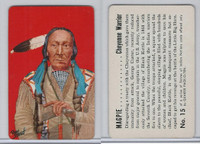 F279-8 Quaker, Braves of Indian Nations, 1956, #15 Magpie, Cheyenne