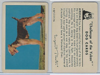 F279-5 Quaker, Challenge of the Yukon, Dog Cards, 1950, Airdale