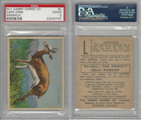 FC1, Harry Horne Co, Nu-Jell, Animals And Birds, 1925, Cape Oribi, PSA 2 Good