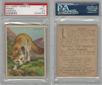 FC1, Harry Horne Co, Nu-Jell, Animals And Birds, 1925, Fennec, PSA 3.5 VG+