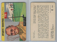 F279-20 Quaker, Sports Oddities, 1954, #2 Fred Snite, Golf