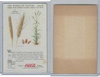 F213-3 Coca Cola, Nature Study, Trees & Plants, 1920's, #2 Wheat