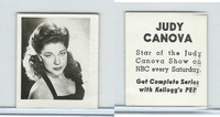 F273-19 Kellogg, Real Photos Stars, 1948, 2nd Series, Judy Canova