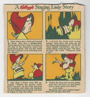 F273-37a Kellogg, Mother Goose Stories, 1933, Little Bo Peep