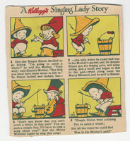 F273-37a Kellogg, Mother Goose Stories, 1933, Simple Simon