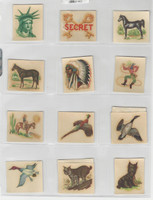 F273-72 Kellogg, Pep Decal Transfers, 1940's, Series 2