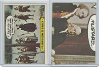 1975 Topps, Hysterical History, #14 Pilgrims Going To Church